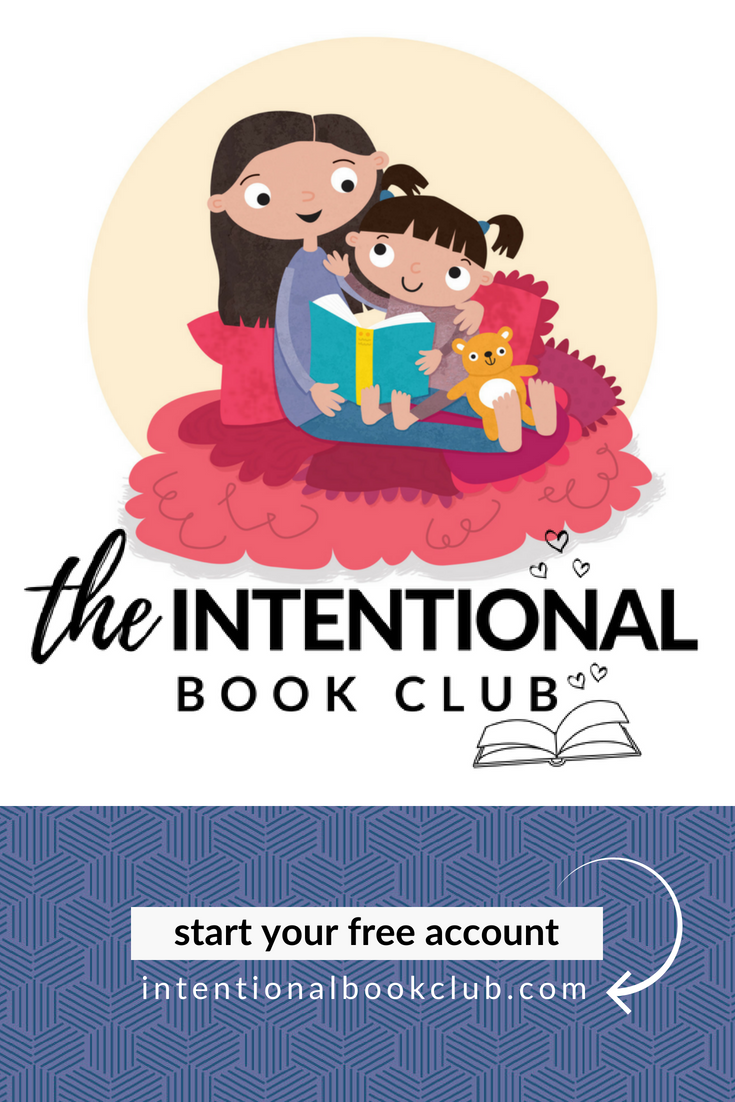 Cultivate your children through books, build an intentional bookshelf and find your family's next favorite book #intentionalbookshelf #intentionalbookclub.